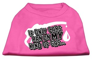 My Kind of Gas Screen Print Shirts  Bright Pink XXXL(20)